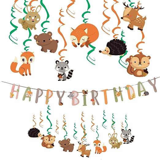 Easy Joy - Kit de decoración para cumpleaños Infantil ...