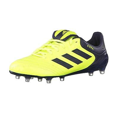 promo code 5f0c3 b37e1 adidas Copa 17.1 FG, Chaussures de Football Homme, Jaune neongelbSchwarz,  40