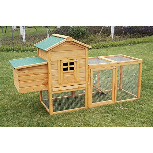 Deluxe-75-Outdoor-Wooden-Poultry-Hutch-Pet-House-Chicken-Coop-Hen-House-w-Backyard-Run