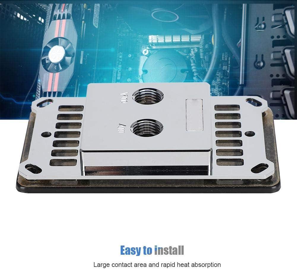 Yoidesu Water Cooling Block for AM4,CPU Water Cooling Block Computer Water Cooler for AMD-JB3D