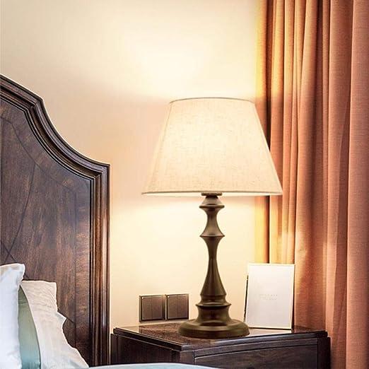 Américain nordique simple salon moderne chaleureux lampe de ...