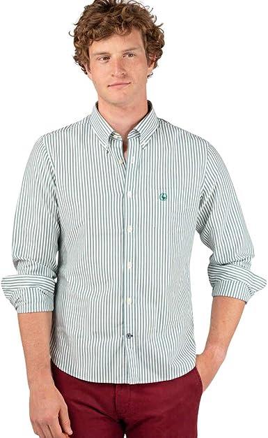 El Ganso 1 Camisa casual, Verde (Verde 0051), XX-Large para Hombre: Amazon.es: Ropa y accesorios