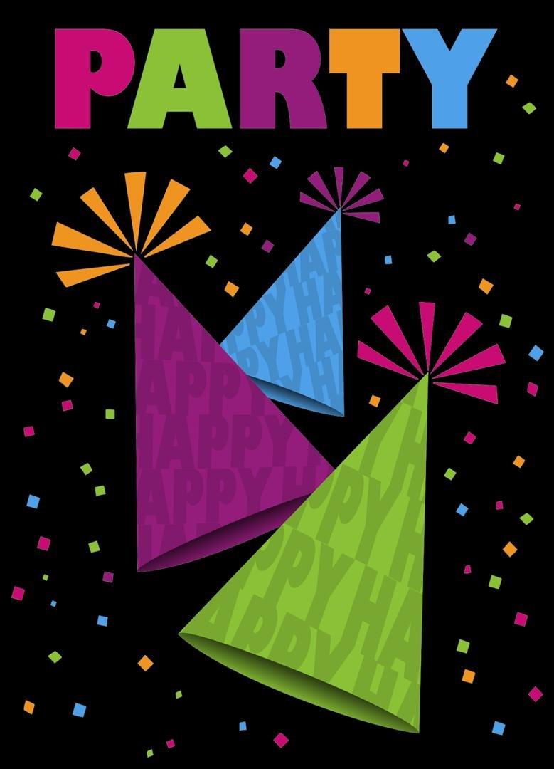 Neon Party Invitations by Unique Party Unique Industries 42737
