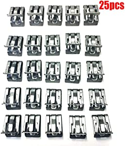 """ALLMOST for 1994-2017 Interior Trim Clips GM 15748479 1/2"""" X 5/8"""" (25 Pack)"""