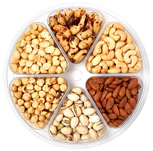 ted Mixed Nuts Tray | Premium Mix of Cashews, Almonds, Hazelnuts, Macadamias, Pistachios and Brazil Nuts | Kosher Certified ()