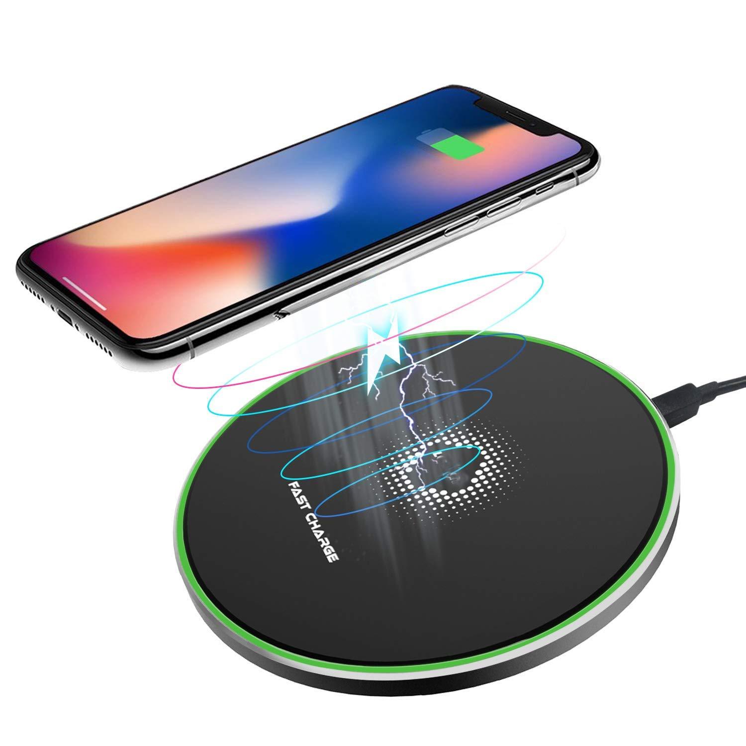 LOBKIN Qi Wireless Charger, Black