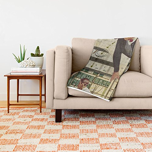 Society6 Welcome To... College 88'' x 104'' Blanket by Society6 (Image #1)