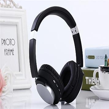LQQAZY Auriculares Inalámbricos Modo De Cable De Soporte Bajo Música Teléfono Celular/TV / Computadora