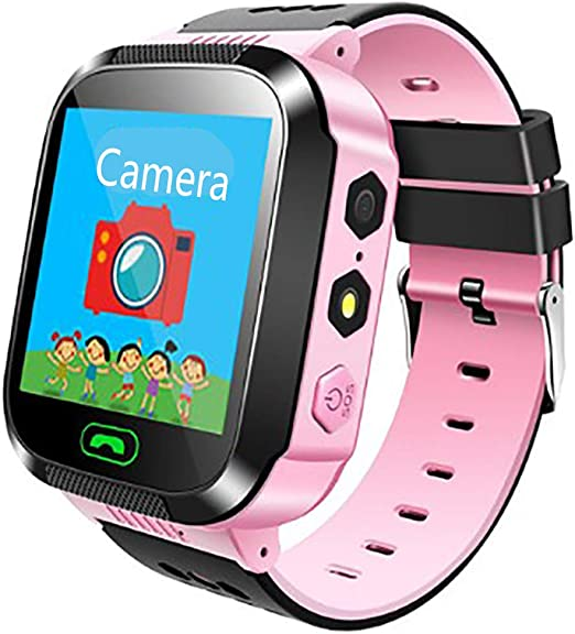 TTCXDP Reloj para niños Smart Watch, GPS Tracker Smartwatch para ...