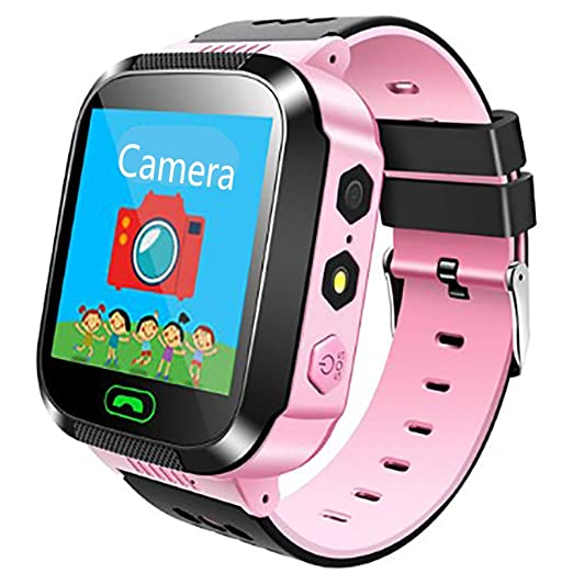 TTCXDP Reloj para niños Smart Watch, GPS Tracker Smartwatch ...