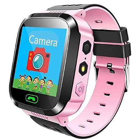 TTCXDP Reloj para niños Smart Watch, GPS Tracker Smartwatch ...