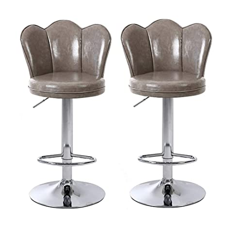 Terrific Amazon Com Cylq Bar Stoolsmodern Pu Leather Swivel Uwap Interior Chair Design Uwaporg