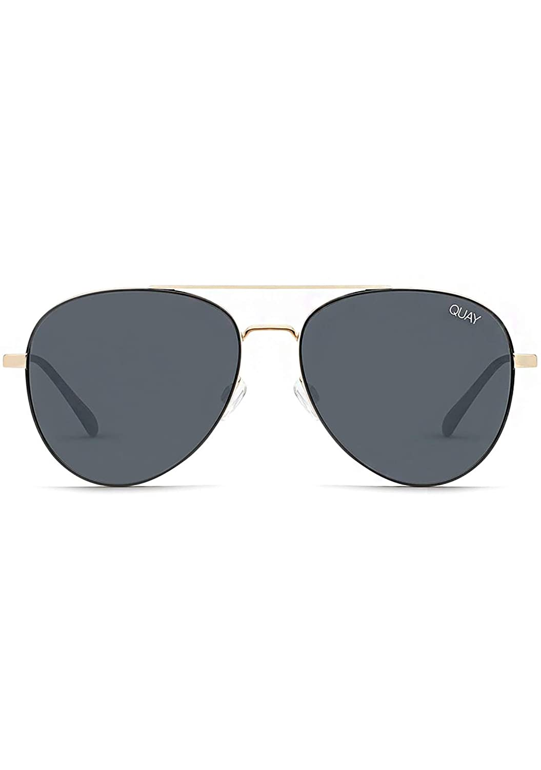 Amazon.com: Quay Australia Single Sunglasses in Black Smoke ...