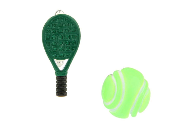 Aeici Gemelos para Hombre Gemelos de Boda Tenis Y Raquetas de ...