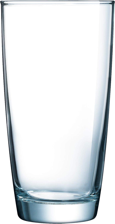Luminarc Atlas 16 Ounce Cooler 4-Piece Set, Tall Glass, Set of 4, Clear