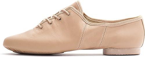 Katz Dancewear Black PU Pull On Suede Split Sole Jazz Practice Jive Cerco Modern Dance Shoes