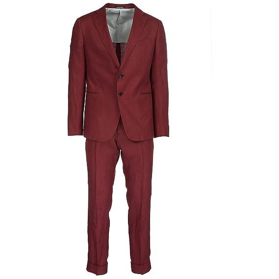 Emporio Armani traje de hombre nuevo rojo EU 50 (UK 40 ...