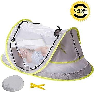 Indoor Outdoor SUNVENO Baby Beach Tent Mosquito Net for Infant 2 en 1 Moustiquaire Nouveau-n/é Portable /& Washable Baby Mosquito Net Foldable