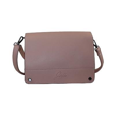Glüxklee Damen Handtasche Umhängetasche mit Überschlag (soft