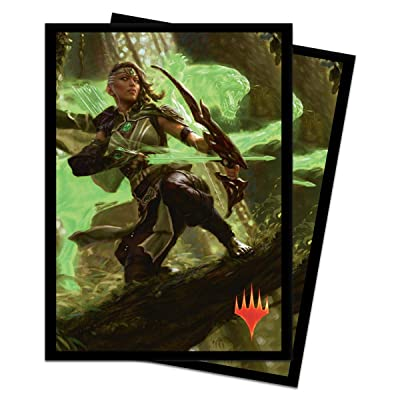 "Ultra PRO Magic: the Gathering M20 ""Vivien, Arkbow Ranger"" Deck Protector Sleeves (100 ct.): Toys & Games"