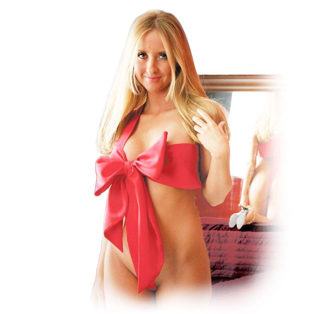 Women Knot Body Bow Lady Lingerie Sleepwear Babydoll Underwear Nightwear
