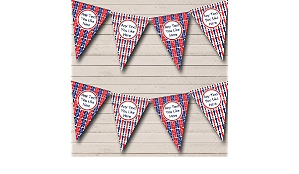 Keep Calm And Beefeaters London Personalised Carnival Fete Street Party Bunting