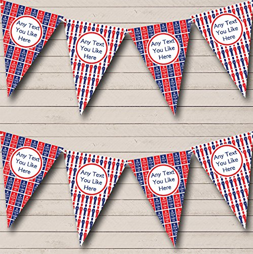 Keep Calm And beefeaters Londres Carnaval Fete Street Party Bunting Banner