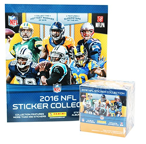 2016 Panini NFL Football Sticker Collection 50 pack box &...