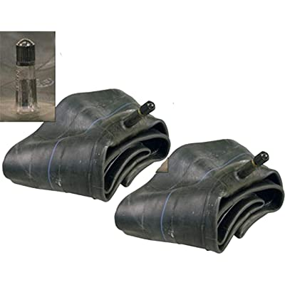 Pack of 2 (Two) Trans American 16x6.50-8, 16x7.50-8 Inner Tube TR-13 Straight Valve Stem: Automotive