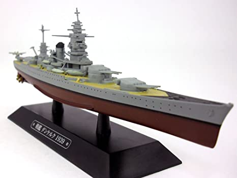 French Battleship Dunkerque 1//1100 Scale Diecast Metal