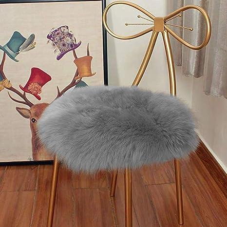 Amazon.com: Eanpet - Cojín redondo de piel de oveja ...