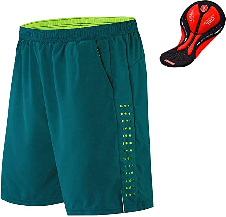 WOSAWE Pantalones Cortos de Bicicleta para Hombres Transpirable ...