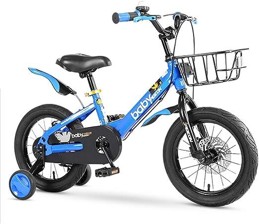 GAIQIN Durable Bicicleta para niños Bicicleta 5-6-7-9-10-11 años ...