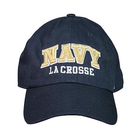 Amazon.com   NCAA Navy Midshipmen  47 Clean Up Lacrosse Hat   Sports ... bb7f1761a