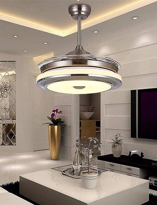 Giow Ventilador de Techo Invisible, Lámpara de Ventilador, Sala de ...