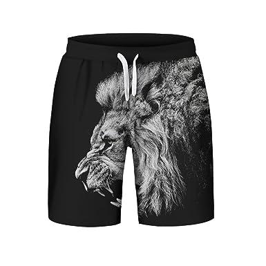 Casual De Ete Homme Loisir Shorts Travail 3d Short Imprimé Solike wZPXkTiOu