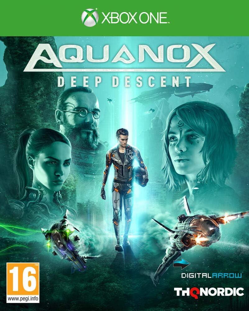 Koch Media Aquanox Deep Descent, Xbox One vídeo - Juego (Xbox One, Xbox One, Acción, Modo multijugador, RP (Clasificación pendiente)): Amazon.es: Videojuegos