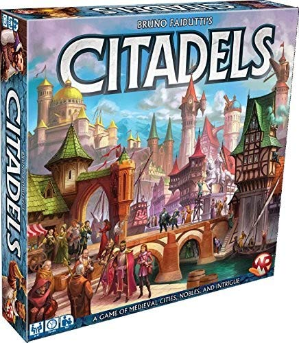 Citadels (Powell Round Game Table)