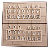 MonkeyJack Japanese Chess Classical Shogi Game Set with Wooden Board Table Travel Game