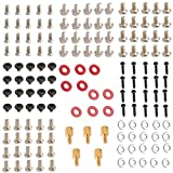 155 Pieces Personal PC Computer Screws and Standoffs Set Assortment Kit for DIY Computers Case Motherboard Fan CD Drive and Hard Drive ¡­