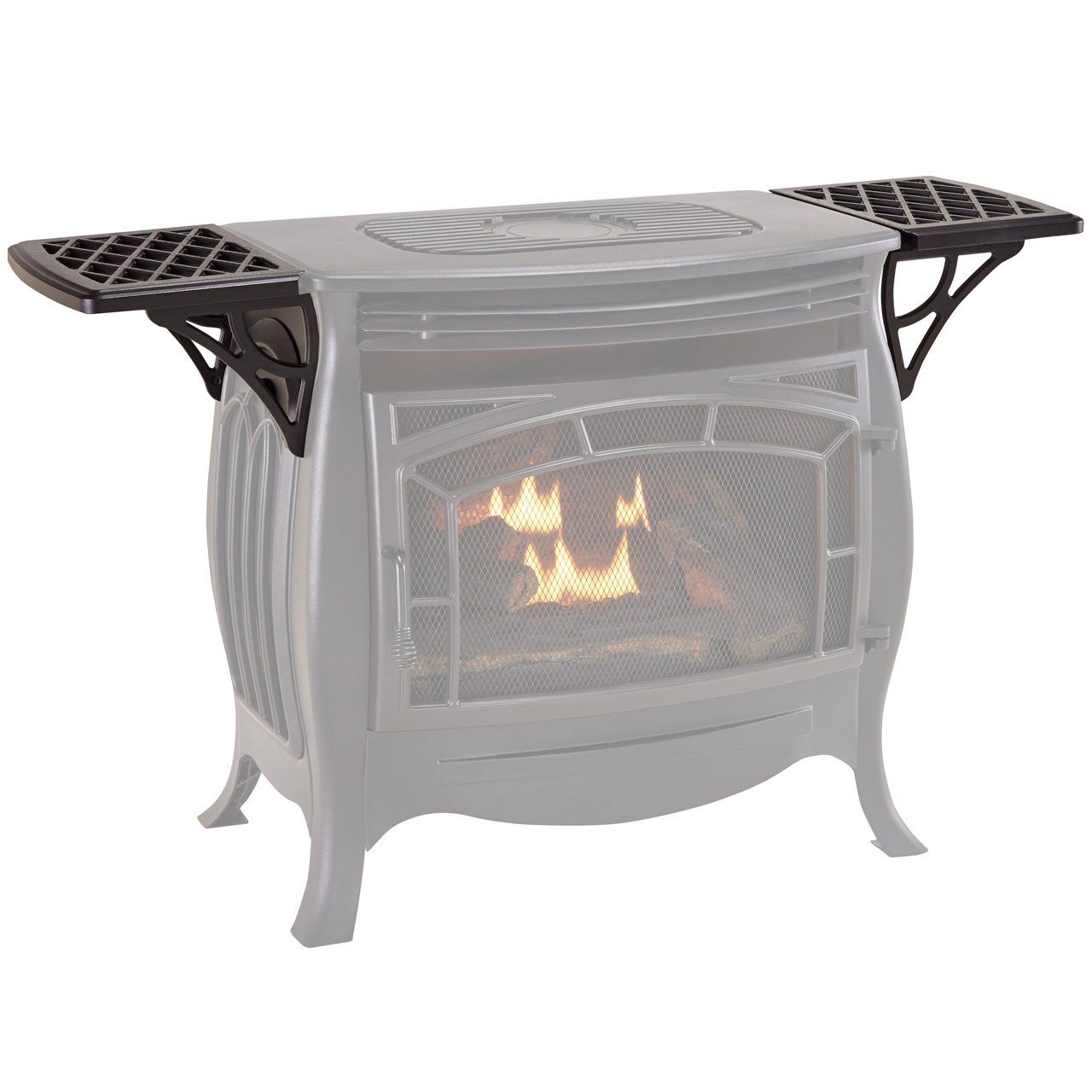 Duluth Forge Shelves for Ventless Gas Stove - Model# FDSR25SG Factory Buys Direct FDSR25-GF