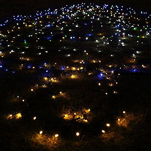 Malibu Landscape Lights Flashing: GDEALER Solar String Lights 72feet 200 LED 2 Modes Solar