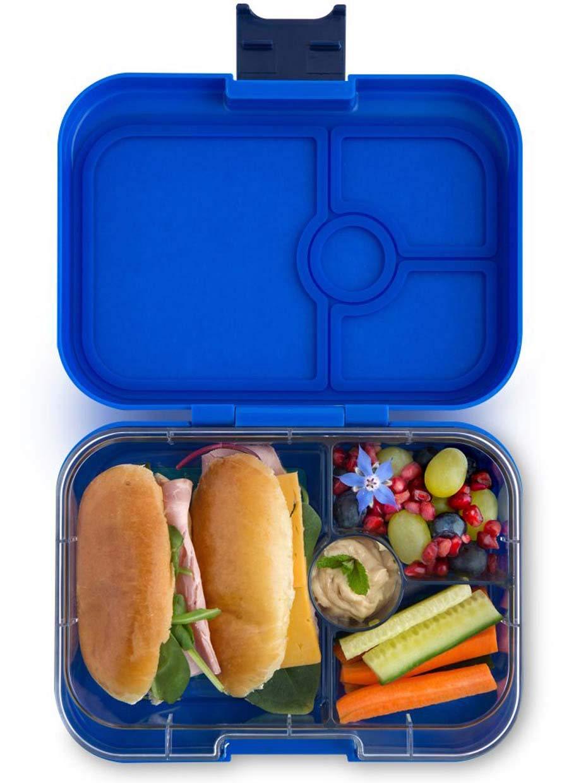 Yumbox Panino Lunchbox (Mystic Aqua, 4 Fächer) - mittelgroß   Brotdose mit Trennwand Einsatz   Brotbox für Kindergarten Kinder, Schule, Erwachsene B0716P8CNT | Authentisch
