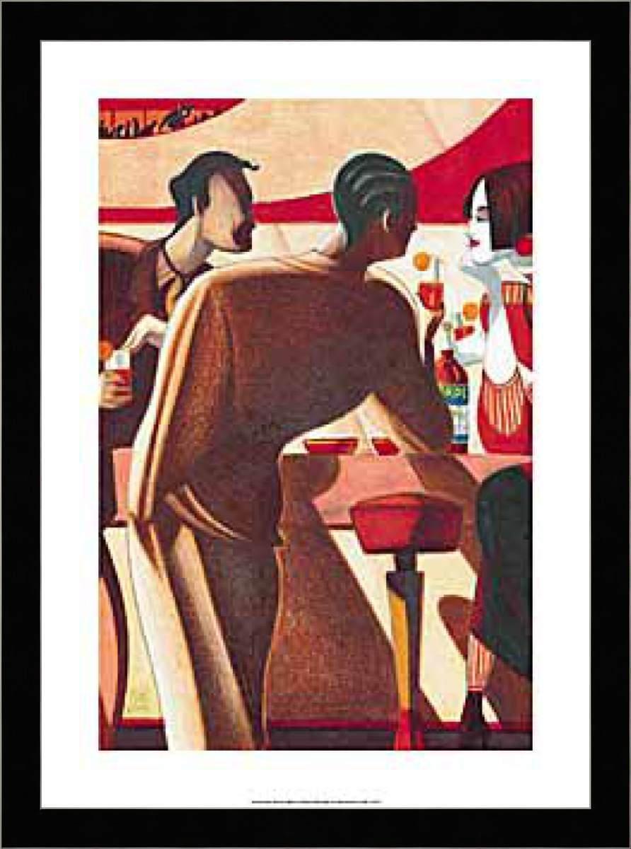 Mattotti Lorenzo Aperol Bar Getränk Kunstdruck Druck