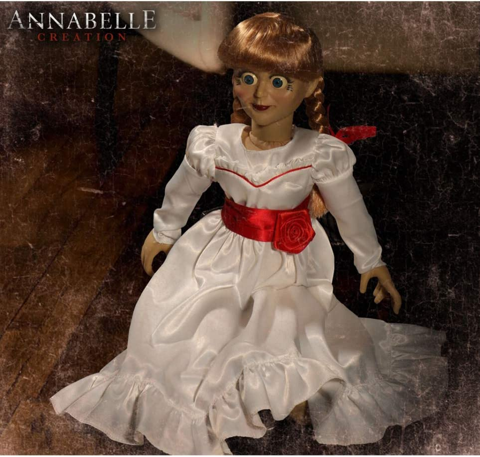 Horror-Shop Annabelle Creación Muñeca De Colección 45cm: Amazon.es ...