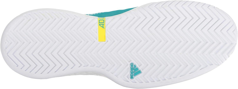 adidas Herren Adizero Ubersonic 3 White Legend Ink Shock Yellow