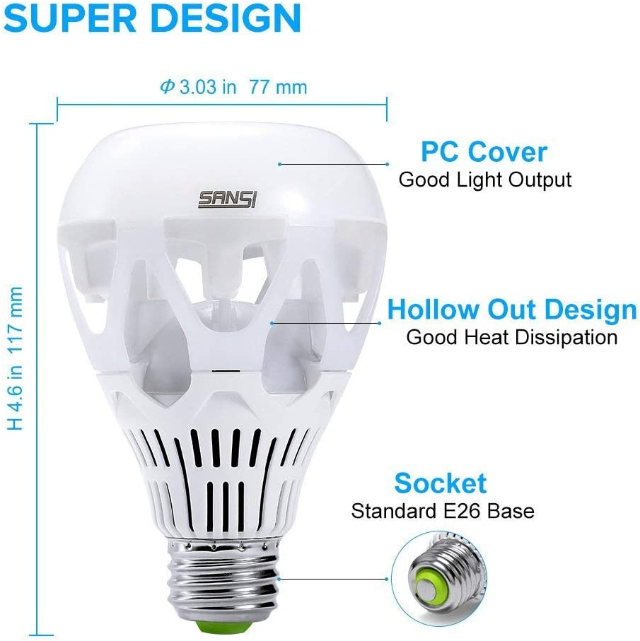 LED bulb e14a 2,5w extrastar 150 Lumens 18x51 mm 6000k 360 ° White Light