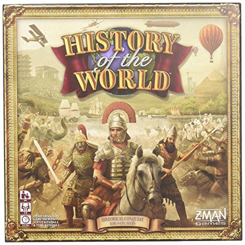Z-Man Games History of the World Board Game