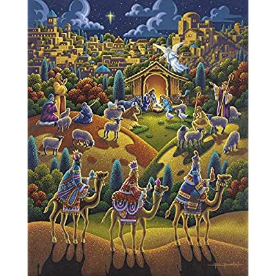 Dowdle Jigsaw Puzzle - Nativity - 500 Piece: Toys & Games