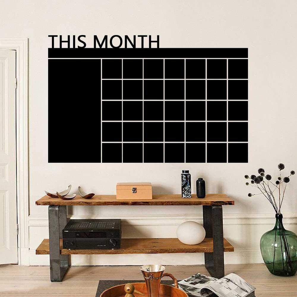Amazon.com: Foonee - Calendario de pizarra de borrado en ...
